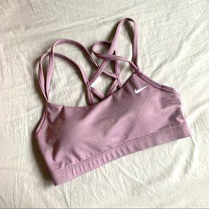 Nike strappy sports bra